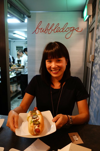 Sandia Chang, Chef James Knappet's wife & Bubbledogs GM at Savour 2014
