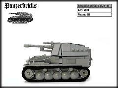 Panzerhaubitze Wespe SdKfz 124