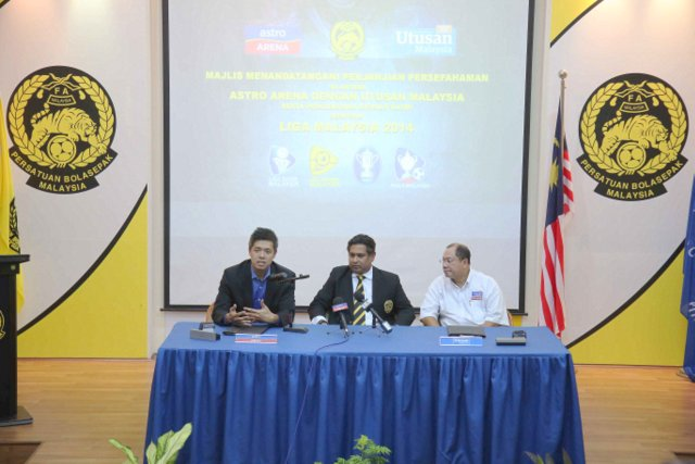 Astro Arena & Utusan Malaysia Berkolaborasi Martabat Bola Sepak