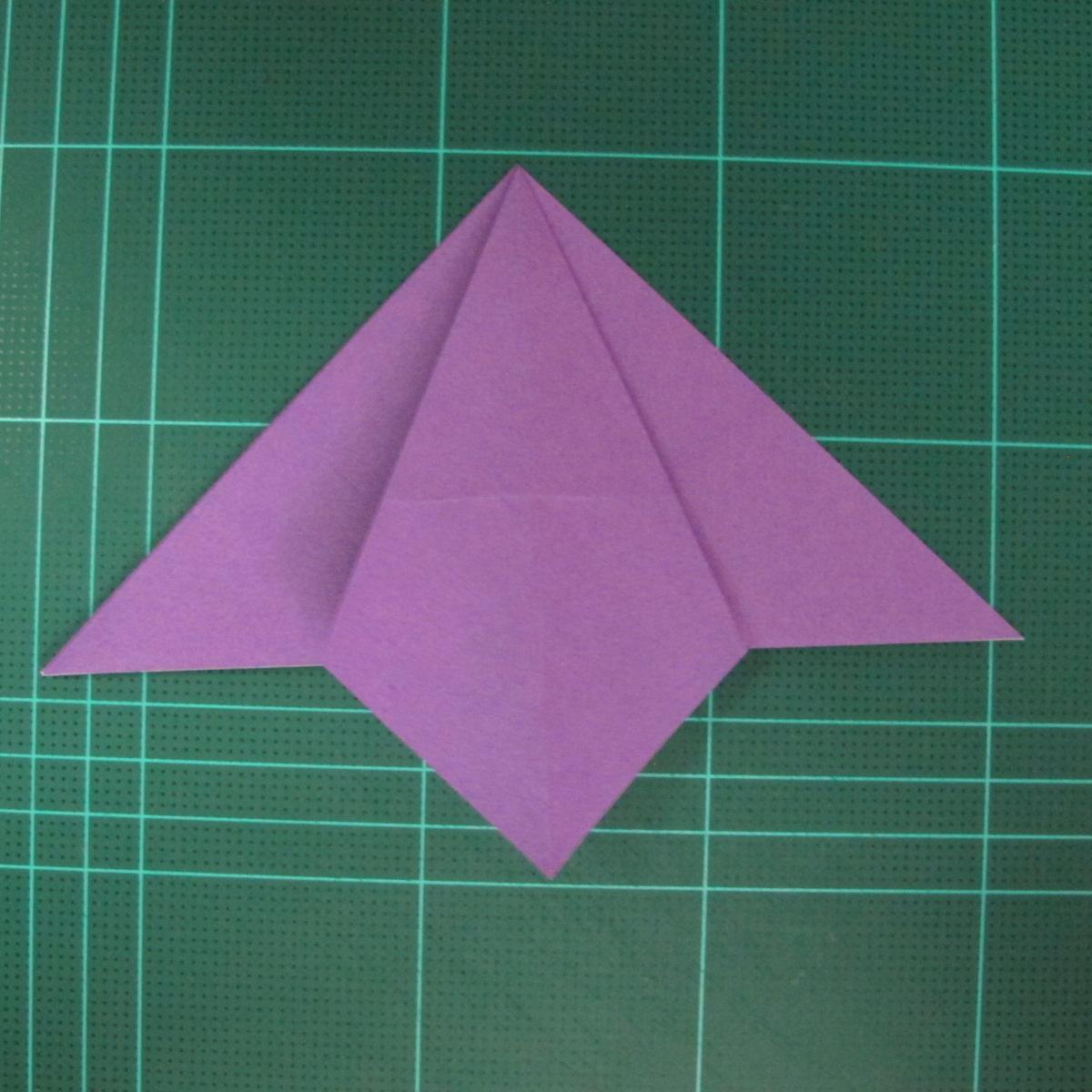 การพับกระดาษเป็นฐานนกอินทรี (Origami Eagle) 010