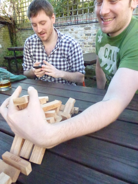 Drinks and Jenga Mar 14