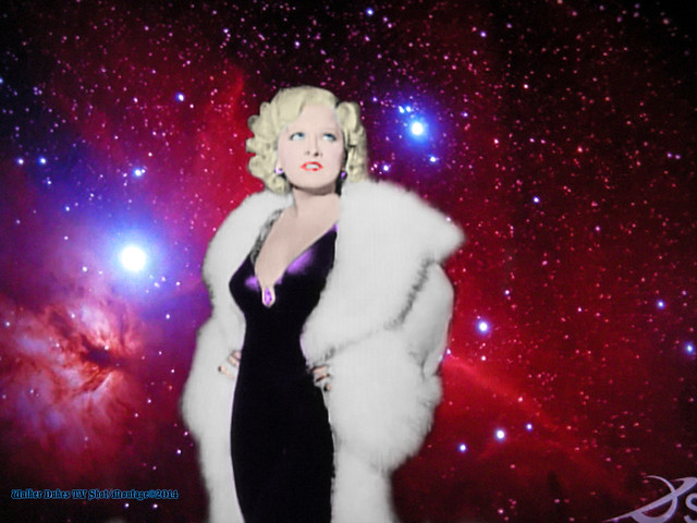 Movie Star Mae West in Her 4th Dimension