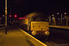 47790 'Galloway Princess' on the rear of the delayed Northern Belle 1Z43 York - Ayr at Kilmarnock 04/04/14...
