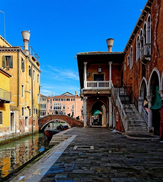 Venice : Pescaria / Campo de le Becarie