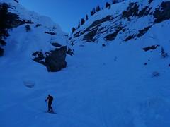 Aufstieg Nabiges Loch