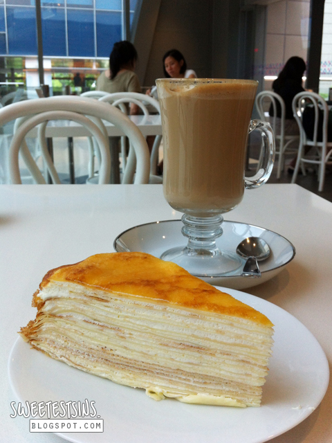 lady m mille crepes and latte review