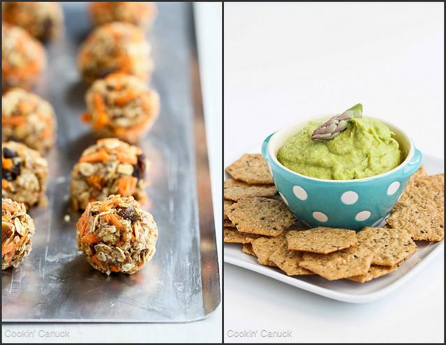 Healthy Snack Recipes   cookincanuck.com #snack #healthy