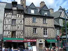 Rennes aneb Posezení s farem ve vstupní bráně do Bretaně