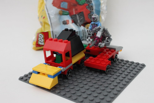 Philly Brick Fest Swag - Space Bulldozer Tractor Trailer