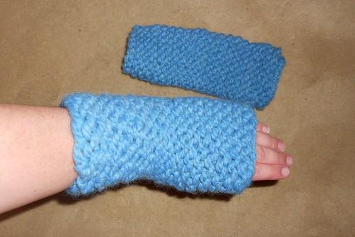 Garter Stitch Cuffs