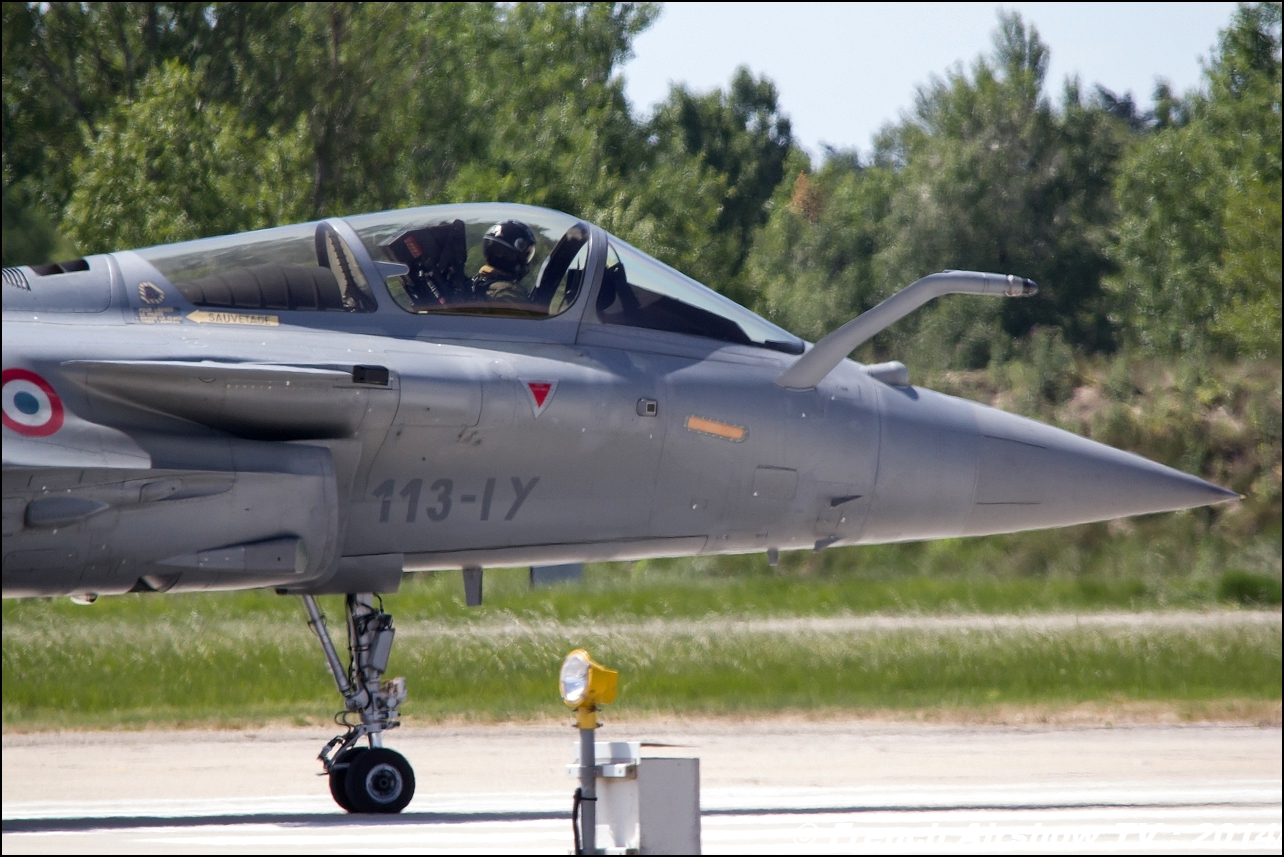 Rafale Solo Display, Meeting Aerien 2014
