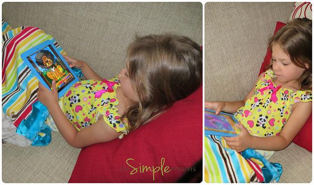 school zone tablet relaxing