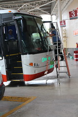 Valladolid bus station cleaning