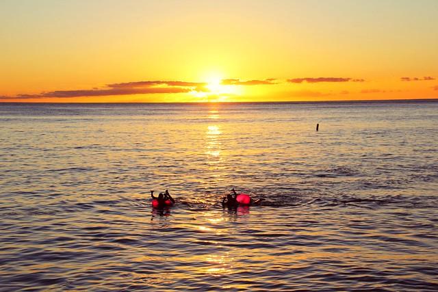 Sunset at Honolulu