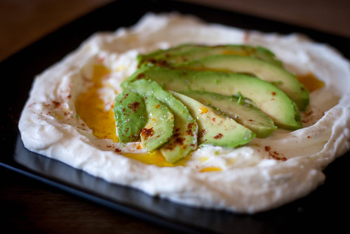 Avocado, Greek Yogurt, Olive Oil, Berbere