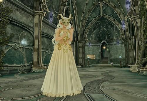 elven priestess...