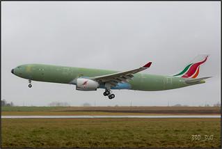 A330-343 SriLankan Airlines 4R-ALN ( F-WWCP )  /  4114