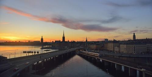 skyline sweden stockholm slussen
