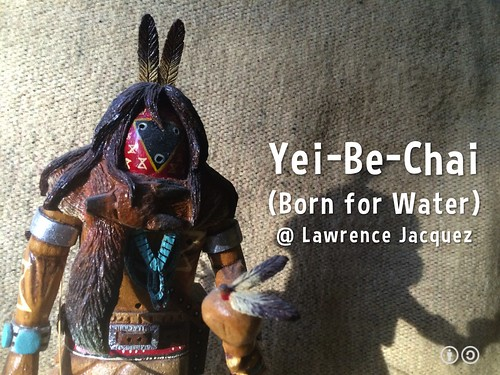Yei-Be-Chai (Born for Water) Artwork @ Lawrence Jacquez