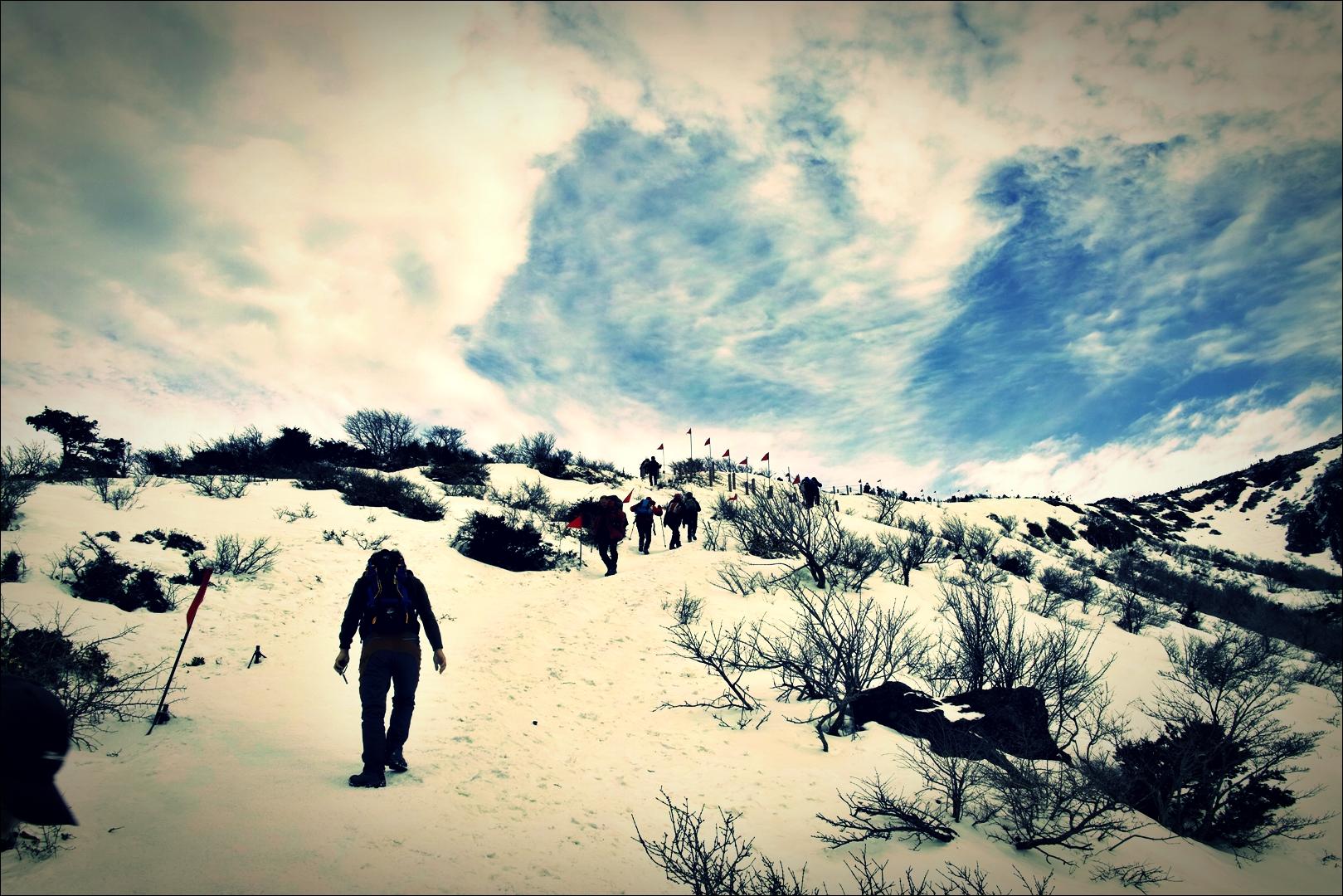 등산로-'한라산 영실코스 Hallasan youngsil trail'