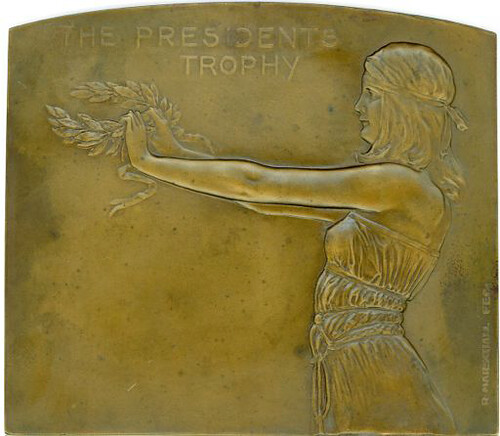 THE PRESIDENTS TROPHY medal
