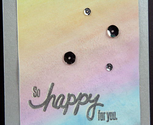 Watercolor So Happy For You Card | shirley shirley bo birley Blog