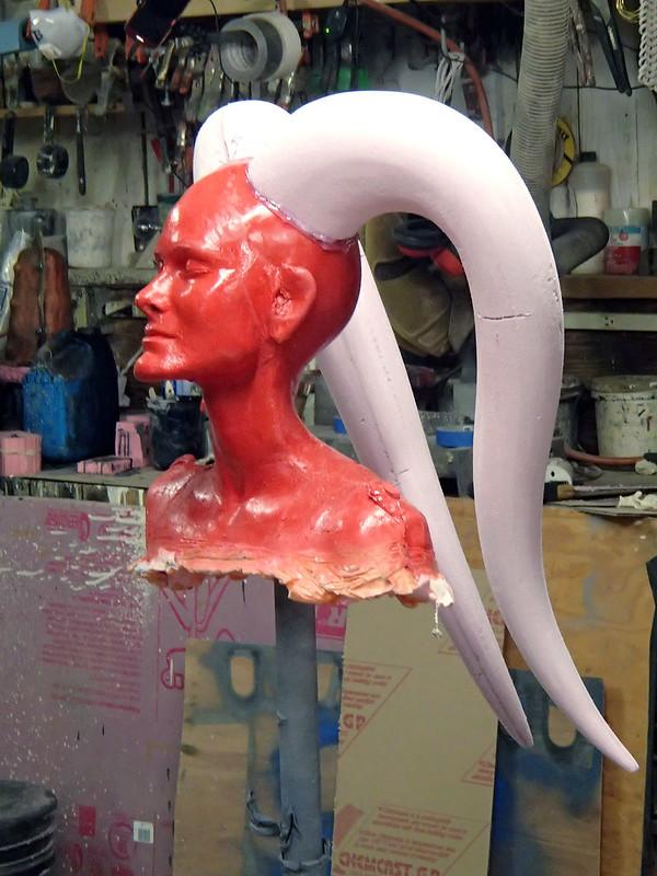 Sculpting Armature Assembled