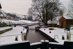 The Rochdale canal at Walsden