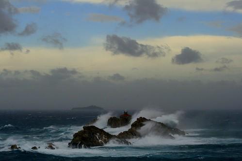 Celebrity reflection rough seas lighthouses