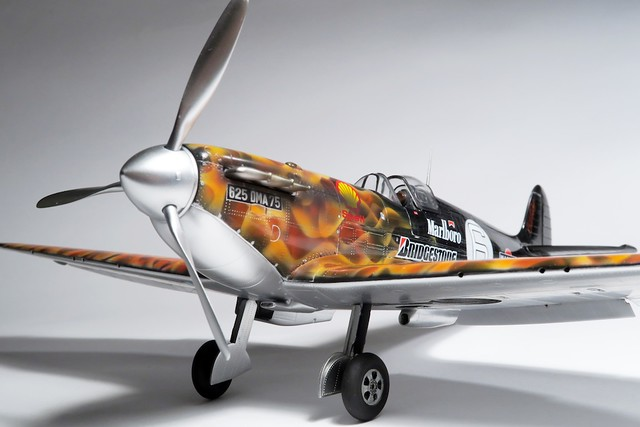 【玩具人'Sampson WS Yu'投稿】Supermarine Spitfire on fire!!
