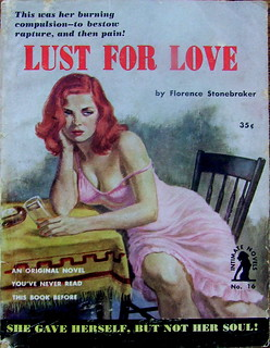 Lust For Love - Intimate Novel - No 16 - Florence Stonebraker - 1952