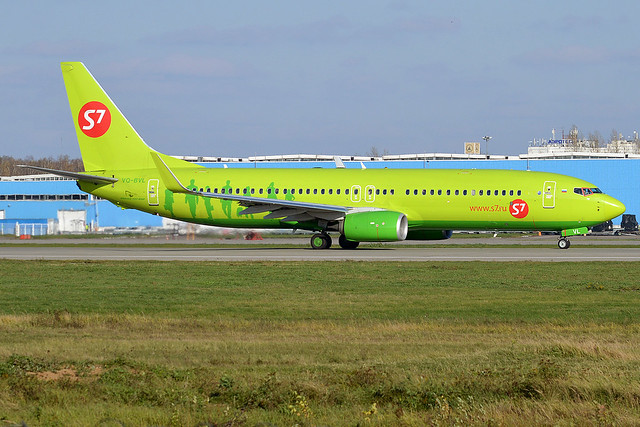 S7 Airlines, VQ-BVL, Boeing 737-8GJ