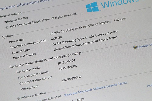 Pipo 10.1 Windows Core m tablet
