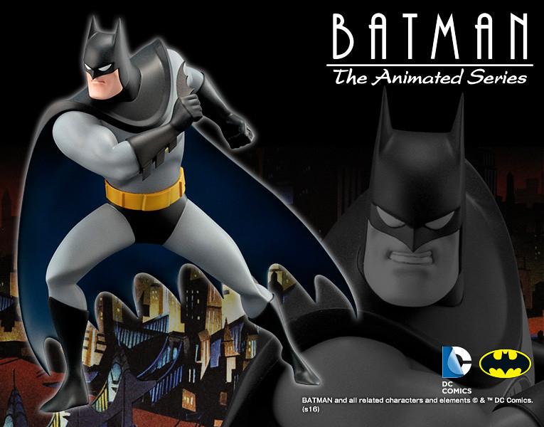 壽屋 ARTFX+ 系列【動畫版蝙蝠俠】Batman: The Animated Series 1/10 比例 全身雕像