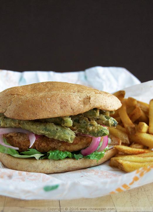 Vegan Copycat Jedi Order Chicken Sandwich