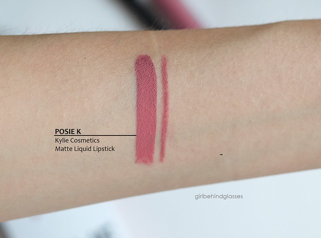 Kylie Cosmetics Lip Kit Posie K swatch