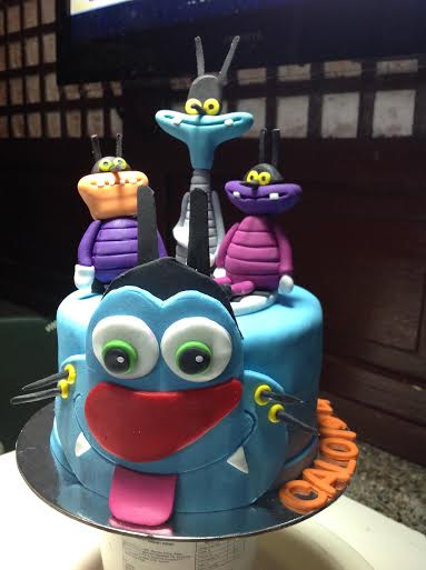 Oggy and the Cockroaches Cake by Klaire Omagap
