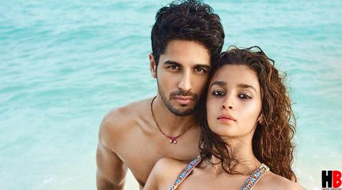 Alia Bhatt and Sidharth Malhotra hot pics