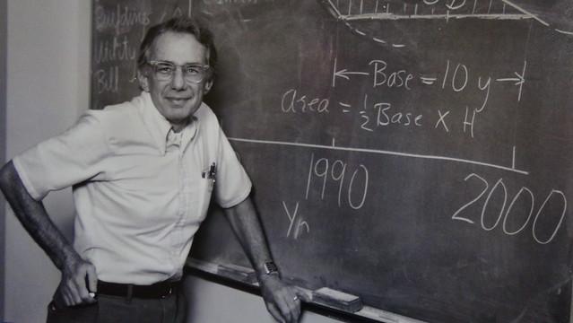 1970年代的羅森費爾德。照片提供:唐獎教育基金會。