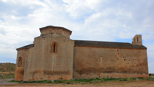 Santa María de Chalamera, Huesca, España 1.