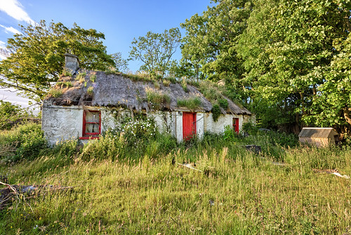 ireland historic history building natural old rural abandoned gareth wray photography strabane nikon hdfox hd fox summer landscape landmark tourist tourism scenic visit sight irish county stone brick rock architecture famous walls details d810 1424mm ruin donegal atlantic sea heights famine farm view traditional heritage coast wild way coastal sun clouds town ghost settlement dry fence deserted outdoor grassland innishowen inishowen flowers thatched derelict carndonagh malin head carn road