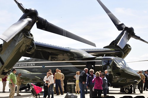 HMX-1 lands Osprey