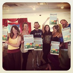 Friends loving Wanderlust Festival at the Burlington Yoga Conference! #projectyoga