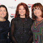 Claire Sheridan, Rosanne Cash and Jill Welter, at Edison Ballroom in New York City, May 9, 2013. Photo by Chris Taggart
