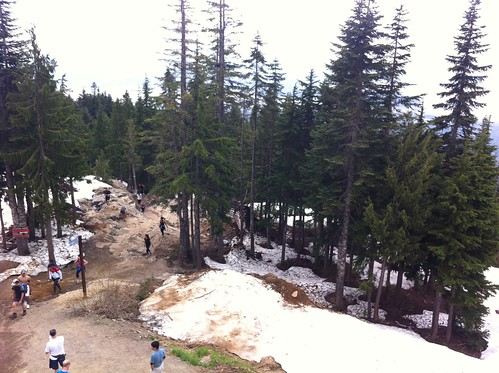 Finish of the Grouse Grind