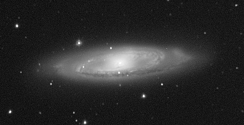 M65 galaxy with 2013am supernova