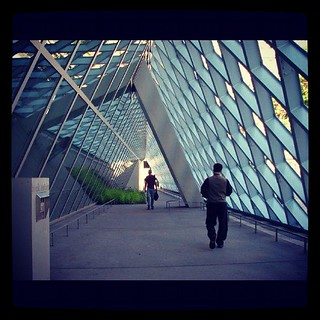 Seattle Public Library - Rem Koolhaas #seattlepubliclibrary #oma #remkoolhaas #seattle #washington #ilovearchitecture #koolhaas