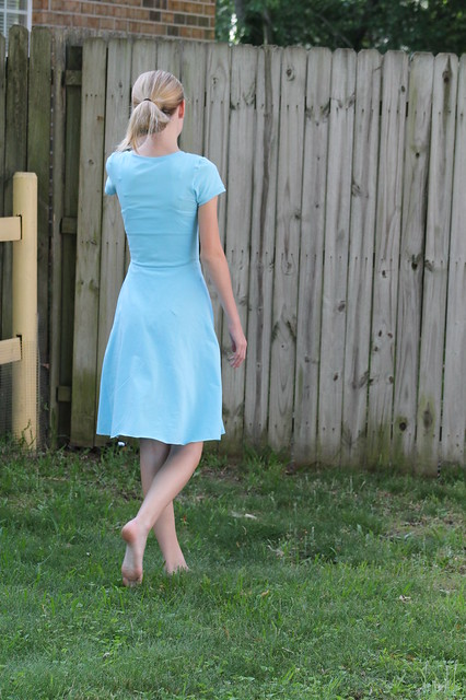 adult skater dress K, back