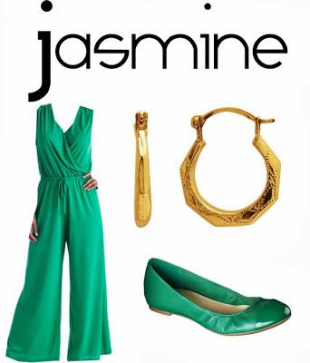 Disney Princess Jasmine Inspired Outfit