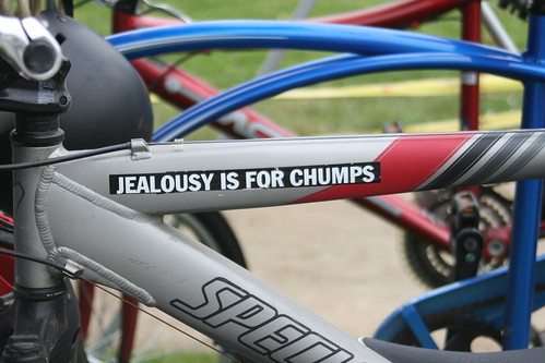 Jealousy is for chump